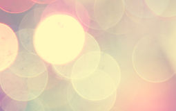 Colorful blur bokeh background Stock Photography