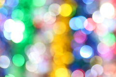 Colorful blur lights bokeh background Royalty Free Stock Images