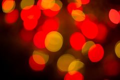 Abstract colourful bokeh background. Colorful blur vivid toned bokeh background stock photos