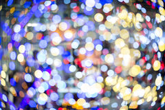 Colorful blured light background. Colorful background with defocused lights royalty free stock images