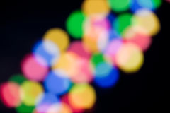 Colorful blured lights Royalty Free Stock Photography