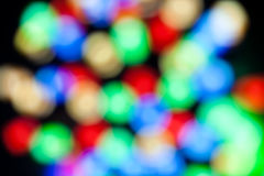 Colorful blured lights Royalty Free Stock Image