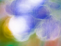 Colorful blurred abstract background or bokeh Royalty Free Stock Photo