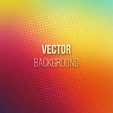 Colorful Blurred Background With Halftone Effect Royalty Free Stock Photo