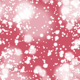 Colorful blurred background with snow overlay, seamless Stock Photos