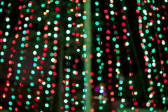 Colorful blurred bokeh lights Royalty Free Stock Photography