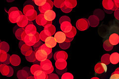 Colorful blurred bokeh lights Royalty Free Stock Photo