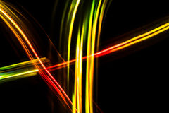 Colorful blurred futuristic abstract background. Royalty Free Stock Photo
