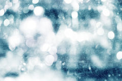 Colorful blurred image of Christmas decoration Royalty Free Stock Images