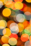 Colorful blurred lights Royalty Free Stock Images