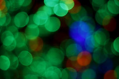 Colorful blurred lights Stock Photo
