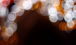 Colorful blurred lights Royalty Free Stock Photography