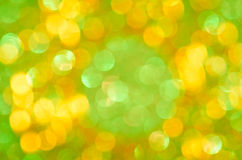 Colorful  blurred lights background Stock Photos