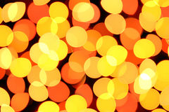 Colorful blurred lights decoration background Royalty Free Stock Images