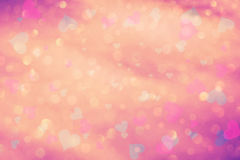 Colorful blurred love heart background Royalty Free Stock Images