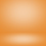 Colorful blurred room orange background stock photography