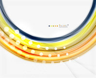 Colorful blurred stripes, abstract background. Template royalty free illustration