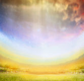 Colorful Blurred textured nature background Stock Image
