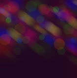 Colorful blurs bokeh night scene background Royalty Free Stock Image