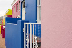 Colorful Bo-Kaap area of Cape Town Stock Images