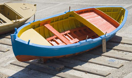 Colorful boat. Royalty Free Stock Photo