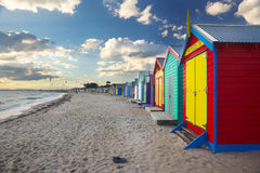 Colorful boat house Stock Images