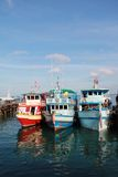 Colorful boat. In Thailand, Ko Toa Island Stock Photography