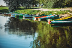 Colorful boats Royalty Free Stock Photo