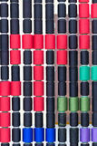 Colorful bobbins Royalty Free Stock Image
