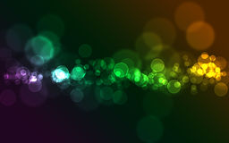 Colorful bokeh Stock Photo