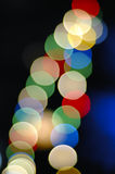 Colorful bokeh Royalty Free Stock Photography