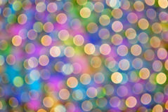 Colorful Bokeh #3. Colorful out of focus bokeh background royalty free stock photos