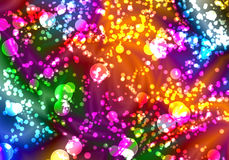 colorful bokeh abstract Royalty Free Stock Photo
