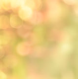 Colorful bokeh abstract background. Defocused nature lights abstract background Royalty Free Stock Photo