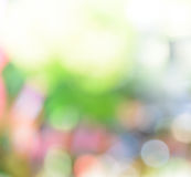 Colorful bokeh abstract background Stock Photography