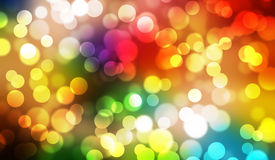 Colorful bokeh abstract illustration graphic background Stock Photo