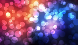 Colorful bokeh abstract illustration graphic background Royalty Free Stock Photography