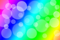 Colorful bokeh abstract light background Stock Photo
