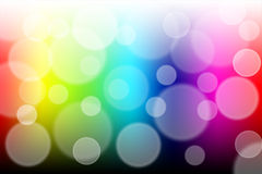 Colorful bokeh abstract light background Royalty Free Stock Photo