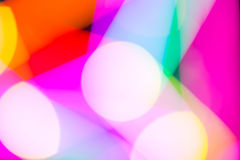 Colorful bokeh abstract light background Stock Image
