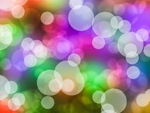 Colorful bokeh Royalty Free Stock Images