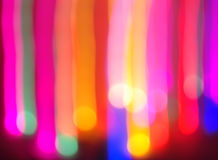 The  colorful bokeh Stock Image