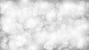 Colorful bokeh backdrop. Vector white bokeh background illustration Royalty Free Stock Images
