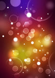 Colorful Bokeh Background Royalty Free Stock Photography