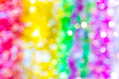 The colorful of a bokeh background Stock Photo
