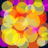 Colorful bokeh background Royalty Free Stock Image