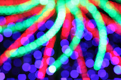 Colorful of Bokeh background Royalty Free Stock Photo