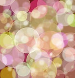 Colorful bokeh background. Colorful abstract light bokeh background Stock Image