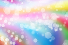 Colorful bokeh background blurred bokeh wallpaper. With bubble stock illustration