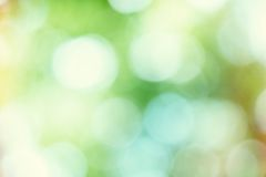 Colorful bokeh background with bright circles Royalty Free Stock Images